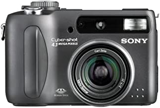 Sony DSCS85 CyberShot 4.1MP Digital Still Camera w/ 3x Optical Zoom