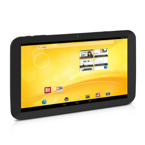 TrekStor Volks-Tablet PC mit 3G 25,6 cm (10,1 Zoll) (ARM Cortex A7, Quad-Core, 1,3 GHz, 1 GB RAM, 16 GB HDD, Android, Touchscreen) schwarz
