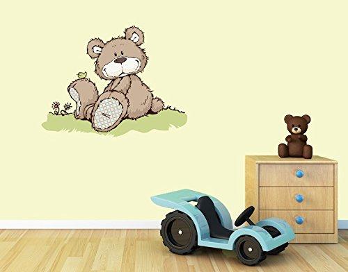 Klebefieber Wandtattoo Classic Bear Lächelnd B x H: 30cm x 23cm