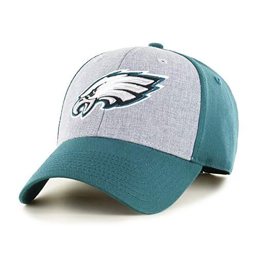 OTS NFL Philadelphia Eagles Men's Essential All-Star Adjustable Hat, Team Color, One Size