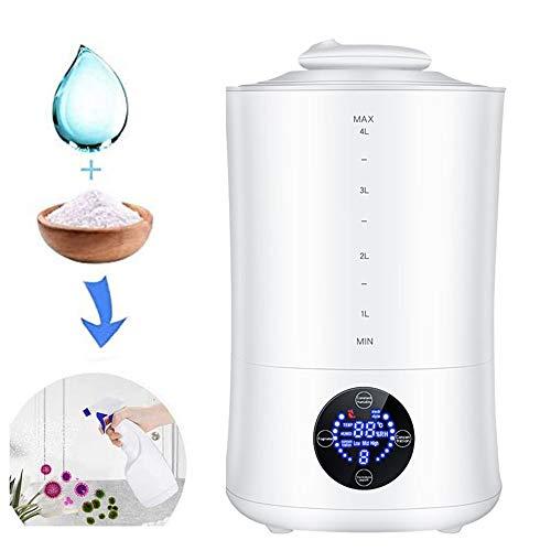NANDAN Natriumhypochlorit Generator, 4L Haushaltsreiniger Luftentfeuchter Fernbedienung Funktion 3 Arten von Konzentrations Adjustable für Innenluftreinigung Sterilisation