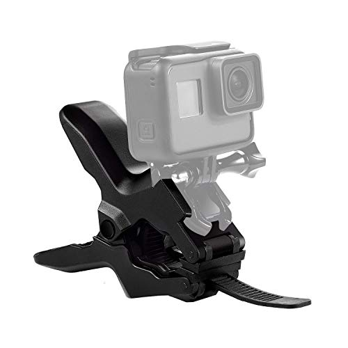 ParaPace Fiets Zadel Rail Camera Mount Bike Seat Mount voor GoPro Hero 7/6/5s/5/4s/4/3+ Campark AKASO DJI OSMO Action Camera's Accessoires, Jaw flex mount