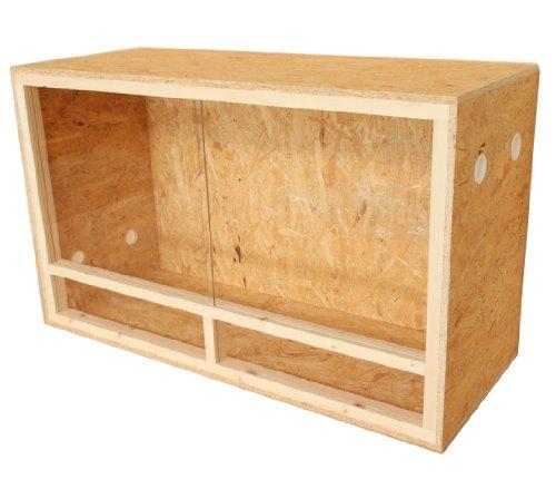 Dehner Classic - Terrario de madera (aprox. 100 x 40 x 60 cm