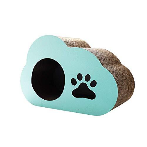 Cat krasplank krasplank klauw klauw kattenbak verticale plaat kattenklauw bord gegolfd papier slijtage kattenbenodigdheden