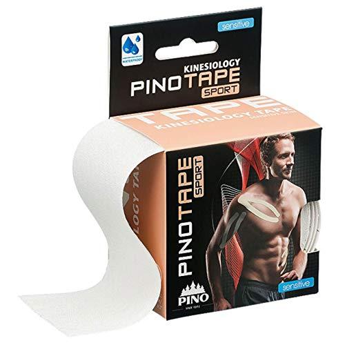 Pinotape Pro Sport © - kinesiologisches Tape 5 cm x 5 m- besonders hautverträglich (Sensitive Skin/ungefärbt)