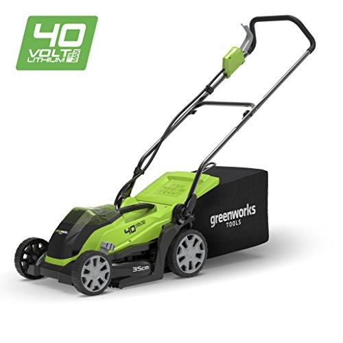 Greenworks /Élagueuse sur perche sans fil sur batterie 20cm 40V Lithium-ion avec batterie 2Ah et chargeur 20157UA