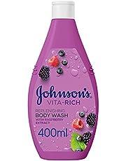 JOHNSON'S, Body Wash, Vita-Rich, Replenishing