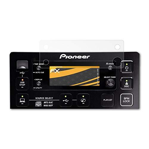 atFoliX Película Protectora Compatible con Pioneer CDJ-350 Lámina...