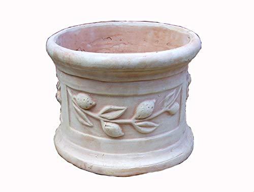 人気のベトナム鉢 植木鉢 ブルージュ (L40) テラコッタ 素焼き鉢 陶器鉢 プランター 園芸 ガーデニング おしゃれ これまでの洋風ガーデンとは一味違った空間を演出します