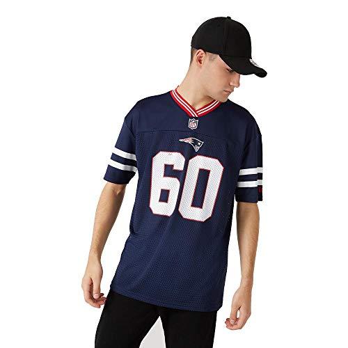 New Era New England Patriots T Shirt NFL Jersey American Football Fanshirt Blau - M