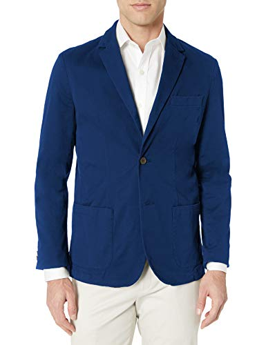 Amazon Essentials Woven Coat Blazers-and-Sports-Jackets, Dunkelblau, 52