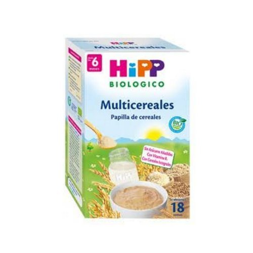 Hipp Papilla Multicereales, 6 Meses - 400 gr