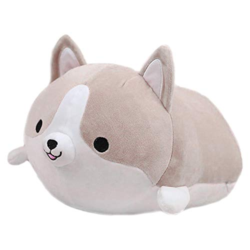 Cute Stuffed Animal Pillow, Corgi Plushie Doll Cartoon Doggo Cute Shiba Animal Toy Cute Plush Toy Pillow Gifts For Valentine's Gift, Christmas, 35cm