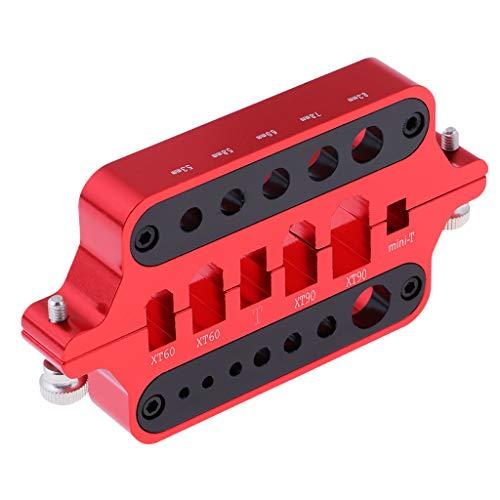 Baoblaze Legierung Universal T-Plug Löthilfe Lötstation für XT60 XT90 Deans