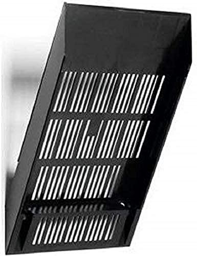 Durable 1700760060 Dispensador de folletos Flexiboxx (extensión A4, 240 x 340 x 135 mm) 1 pieza, negro