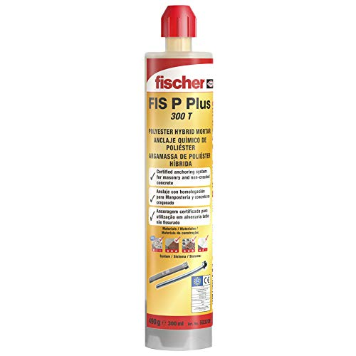fischer 523226 Taco químico de poliéster