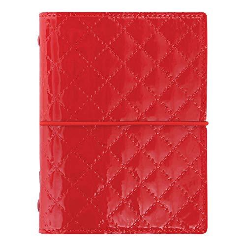 Filofax 2019 Pocket Organizer, Domino Luxe Red, 4.75 x 3.25 inches (C027991-19)