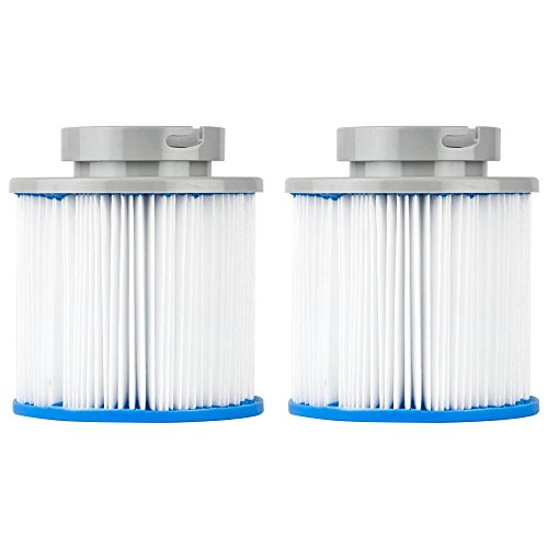 Clear Choice Pool Spa Filter 4.38 Dia x 4.13 in Cartridge Replacement for M-SPA B03008 Baleen AK-B0300874, [2-Pack]