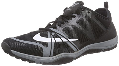 Nike Women's Free Cross Compete Training Shoe Black/Cool Grey/White Size 7.5 M US
