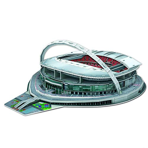 Kids Play Time 3D Football Stadium Jigsaw Puzzle (Wembley)