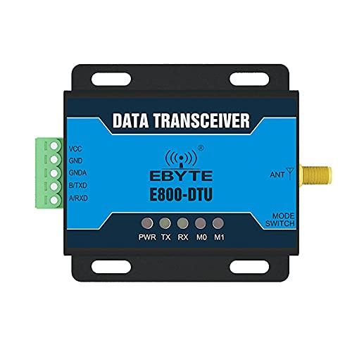 433 MHz grado industrial RS485 inalámbrico módem estación de radio EBYTE E800-DTU (433L20-485) 100mW 3 km de corrección de errores hacia adelante Transmisor receptor