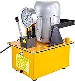 Mophorn Bomba Hidráulica Accionada Eléctricamente 10152 PSI (Válvula Manual) ZCB-63A