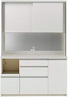 パモウナ 食器棚 幅140×高さ198×奥行45 日本製 WLL-S1400R