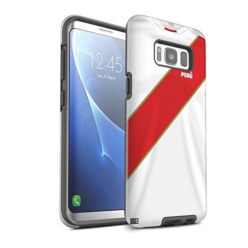 Stuff4®® Phone Case/Cover/Skin/SG8–3dtbg/World Cup 2018Football Camiseta Collection Peru/Peruaner