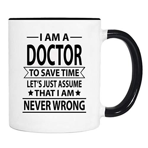 Soy médico para ahorrar tiempo. - Taza - Regalo de doctor - Taza de doctor