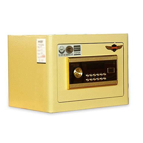 HO-TBO kluis, veilige Office-3c gecertificeerde startpagina 25 cm in de muur in de kast mini nacht kleine kluis, robuuste constructie en uitstekende veiligheid.