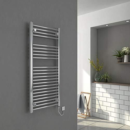 WarmeHaus Electric Heated Bathroom Towel Rail Warmer