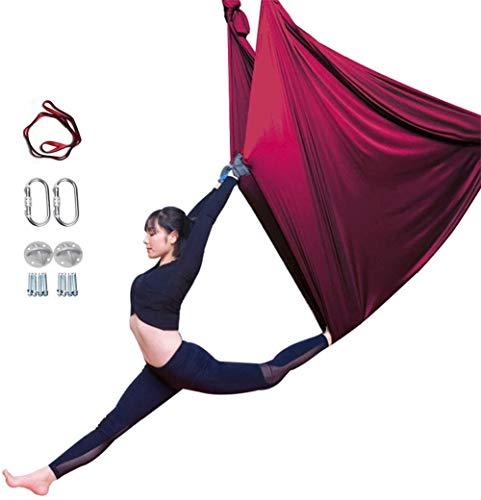 Buy Bargain YAOSHUYANG Aerial Yoga Hammock, Aerial Yoga Swing Set, Ultra Strong Antigravity Yoga Ham...