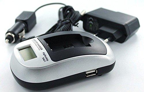 Akkuversum Ersatz Ladegerät kompatibel mit AIPTEK CB-170 Ersatznetzteil Stromversorgung Camcorder Videokamera