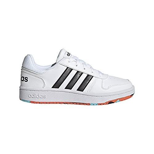 adidas Hoops 2.0 K, Zapatillas, FTWBLA/NEGBÁS/NARAUT, 29 EU