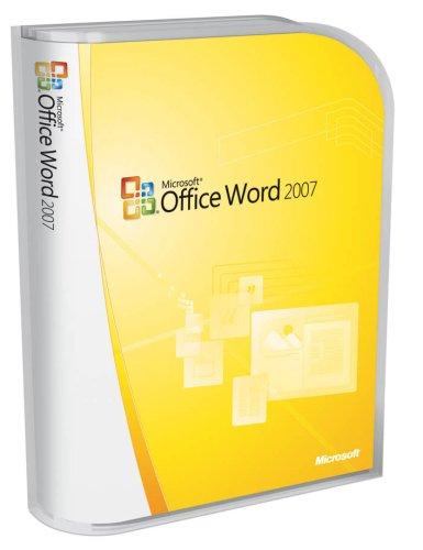 UP MS Word 2007 CD Win32 VUP (englisch) [import allemand]