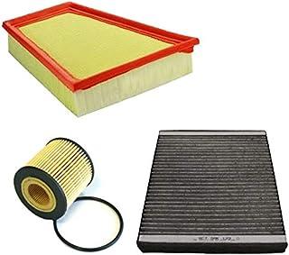 Inspektionspaket Wartungspaket Filterset 1 x Ölfilter 1 x Luftfilter 1 x Innenraumfilter mit Aktivkohle