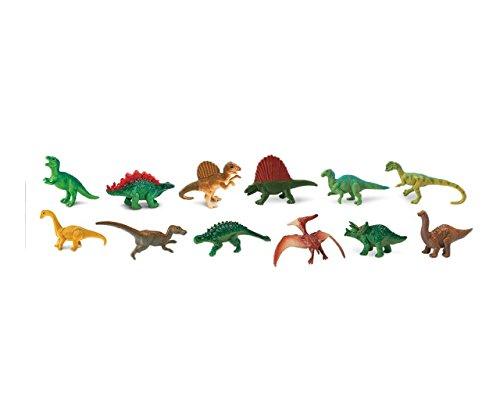 ensemble de 12 figurines de dinosaures