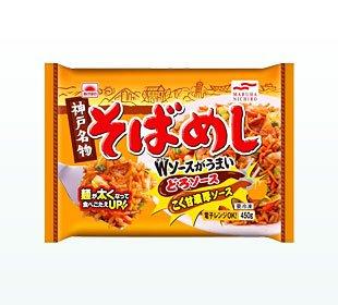 """マルハニチロ 神戸名物そばめし 450g×12袋 (レンジ調理可)"""""""