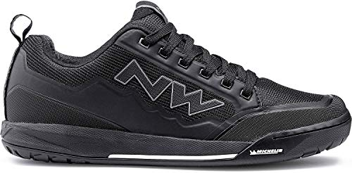 Northwave Clan Cycling Shoe - Men's Black, 45