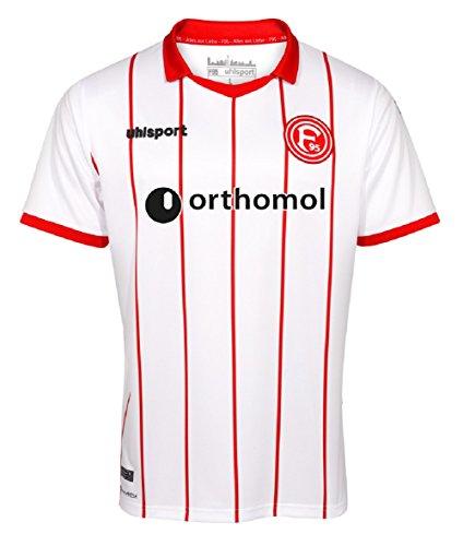 Uhlsport Fortuna Düsseldorf F95 Trikot Home 17/18 (white/red, S)