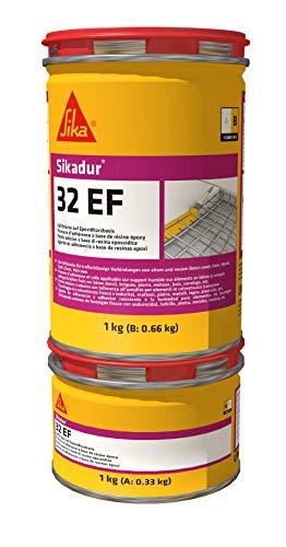 Sikadur-32 EF, Resina epoxi para uniones entre hormigones, Adhesivo estructural para aplicar en...