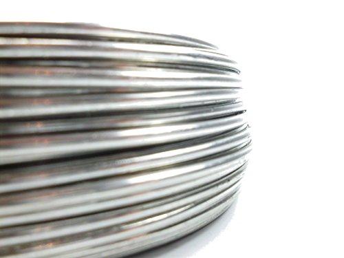 Aluminiumdraht Ø 3mm - Länge: 53m - 1kg