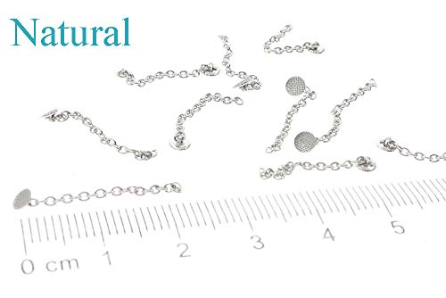 Lot of 10, New Stainless Steel Traction Chain with Eyelet Button Chain Dental Orthodontics Materials