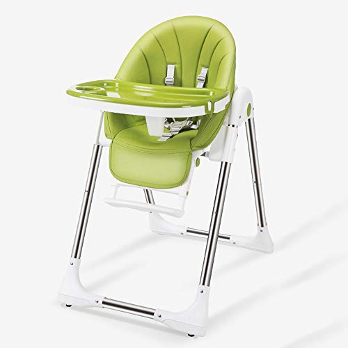 Why Should You Buy Ping Bu Qing Yun Baby high chair - PP + stainless steel tube + PU mat, 6 months -...