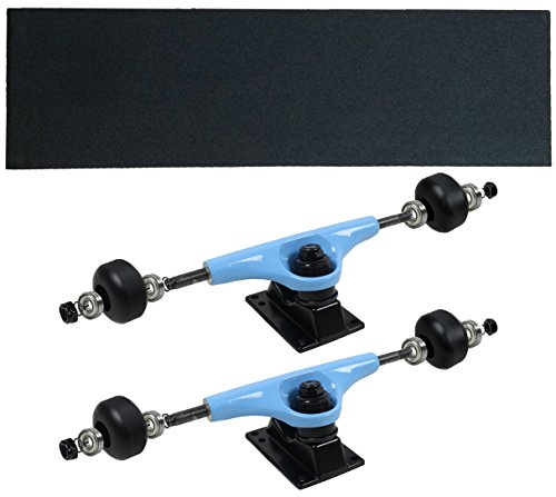 Havok Skateboard Trucks, Wheels, Bearings, Grip, Hardware Truck Package Light Blue