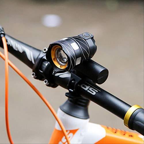 zihui Fiets licht koplamp nachtlampje kan worden uitgerust met USB opladen waterdichte mountainbike focussen accessoires skateboard