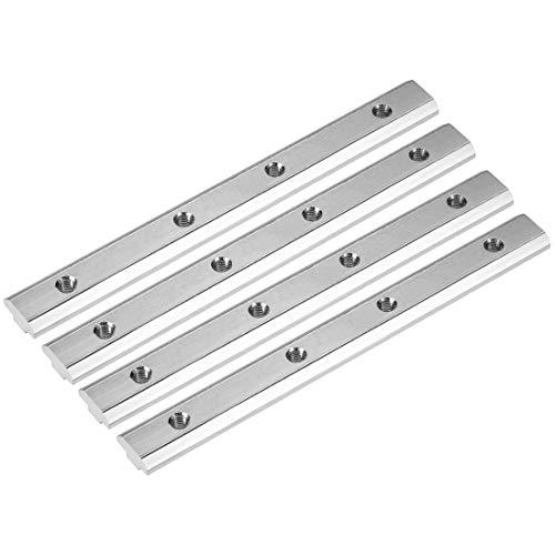sourcing map gerader Leitungsverbinder - Gelenk Halter für Aluminium Extrusionsprofil Serie 4040-4-tlg