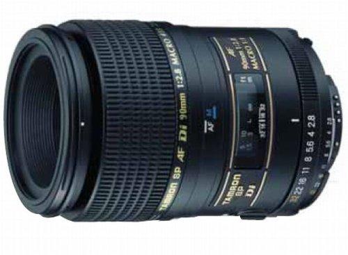 Tamron AF 90mm 2,8 Di Macro 1:1 SP digitales Objektiv für für Nikon (nicht D40/D40x/D60)