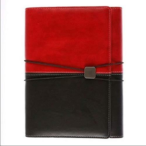 Cuadernos de taquigrafía A5 Cuaderno de hojas sueltas Cuaderno multifuncional Diario de cuerda atada Cuaderno de Office Business 80 hojas Oficina y papelería ( Color : Black , tamaño : 18*23.5cm )