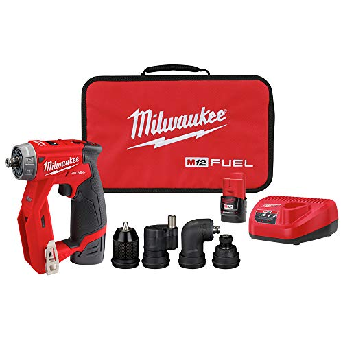 Milwaukee 2505-22 M12 FUEL Lithium-Ion 3/8 in. Cordless Installation Drill Driver Kit (2 Ah)